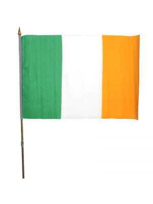 "Wholesale Ireland Hand Flag  - 12"" x 18"""