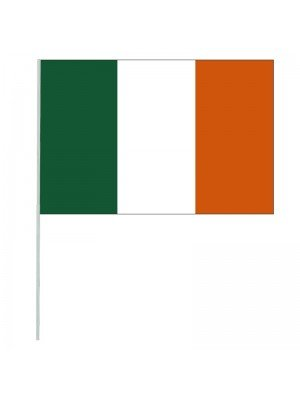 "Wholesale Ireland Hand Flag - 8"" x 12"""
