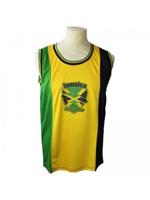 Wholesale Jamaica One Love Mesh Top Vest