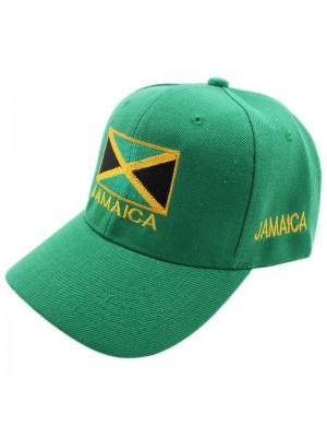 Jamaica Flag Baseball Cap - Green