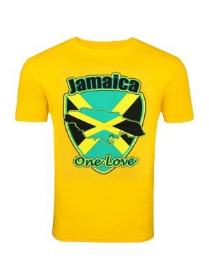 Jamaica One Love Yellow T-Shirt