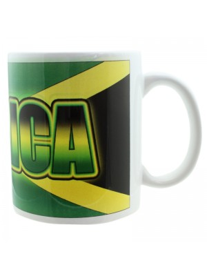 Jamaican Flag New Bone China Mug