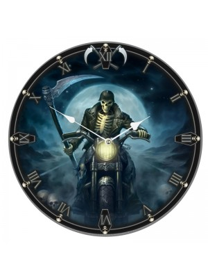 Wholesale James Ryman Hell Rider Wall Clock - 34cm