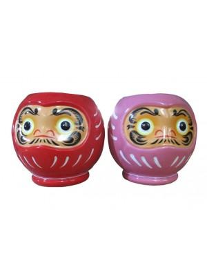 Japanese Daruma Ceramic Oil Burner - Assorted
