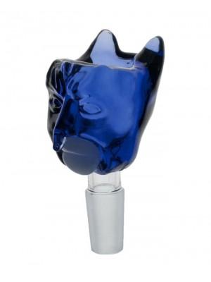 Wholesale Jaxx USA 'PhatMan' Glass Cone - Blue Man (14.4 mm)