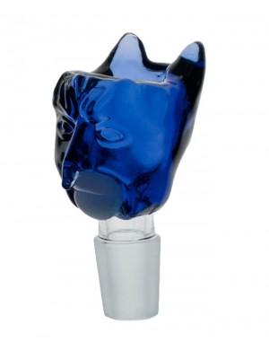 Wholesale Jaxx USA 'PhatMan' Glass Cone - Blue Man (18.8 mm)