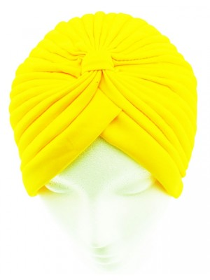 Jersey Turban Hat - Lime