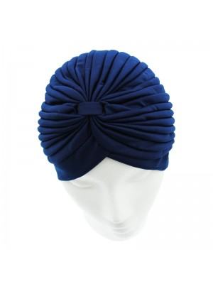 Jersey Turban Hat - Navy