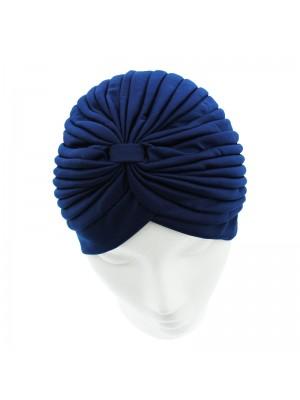 Jersey Turban Hat - Navy