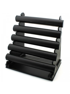 Jewellery Display Stand with 5 Bars - Black