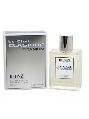 Wholesale JFenzi Mens Perfume - Le'Chel Clasique Titanium Pour Homme