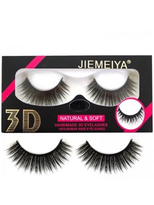 Wholesale Jiemeiya Natural & Soft 3D Handmade Eyelashes - A16