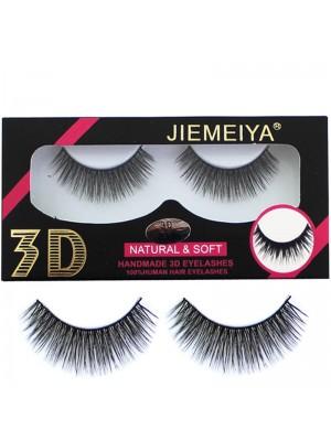 Wholesale Jiemeiya Natural & Soft 3D Handmade Eyelashes - A18