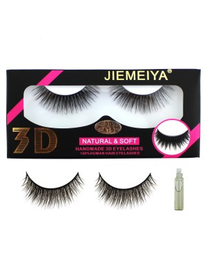 Wholesale Jiemeiya Natural & Soft 3D Handmade Eyelashes - A19