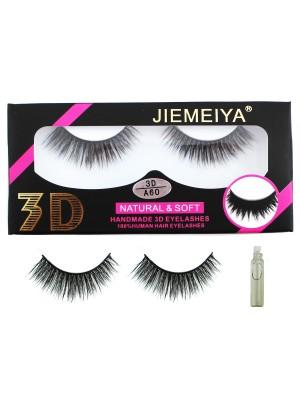 Wholesale Jiemeiya Natural & Soft 3D Handmade Eyelashes - A60