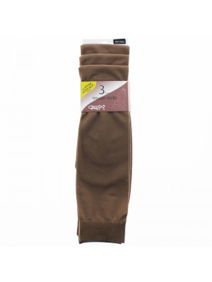 Joanna Gray Trouser Socks - Natural (Medium)