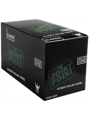 Wholesale Joint Point King Size Classic Ultimate R-Paper Cones - 32 Cones