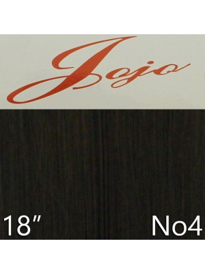 'Jojo' Synthetic Clip-in Hair Extensions 18'' - Colour No. 4
