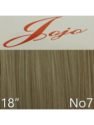 'Jojo' Synthetic Clip-in Hair Extensions 18'' - Colour No. 7