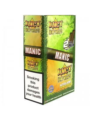 Wholesale JJuicy Jay's Double Hemp Wraps - Manic