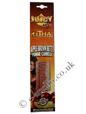 Juicy Jay's Thai Incense Sticks - Apple Brown Betty