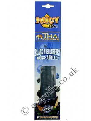 Juicy Jay's Thai Incense Sticks - Black Blueberry
