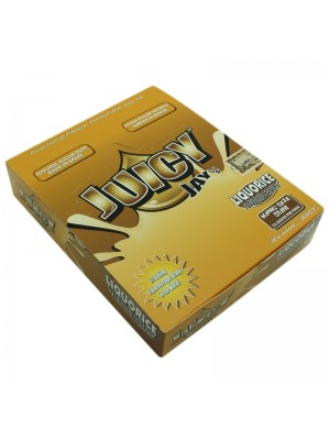 Wholesale Juicy Jay King Size Slim Flavoured Rolling Papers - Liquorice
