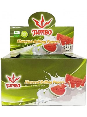 Jumbo Flavoured Rolling Papers - Watermelon(24 Booklets)