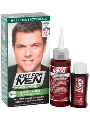 Just For Men Shampoo in Hair Colour - Dark Brown Black (45)
