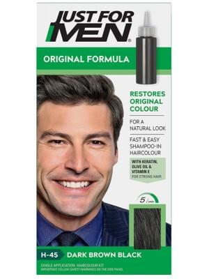 Just For Men Shampoo in Hair Colour - Dark Brown Black (H.45)