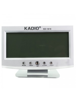Kadio Table Clock with Stand - 17cm