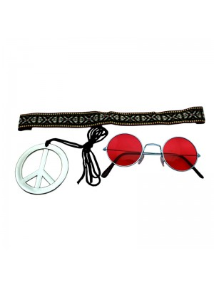 Instant Hippie Kit - Red