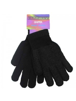 Wholesale Ladies Gripper Gloves Black