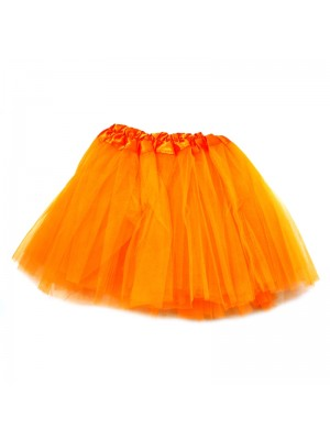Wholesale Kids Orange Tutu Skirt