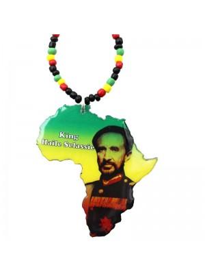 Wholesale King Haile Selassie Design Necklace