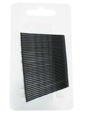 Wholesale Kirby Hair Grips - Black (4cm)