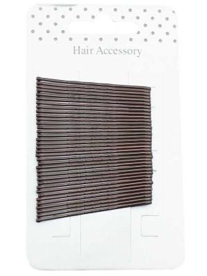 Wholesale Kirby Hair Grips - Brown (4cm)