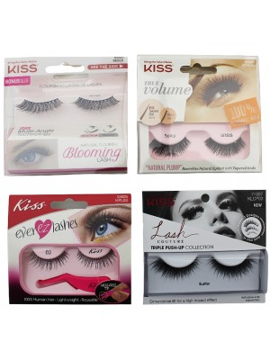Kiss Natural Flourishing Layers Of Lashes - Assorted Designs