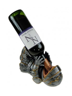 Wholesale Knight Guzzler Wine Holder - 23cm