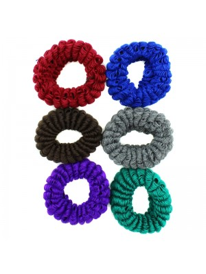 Knitted Scrunchies - Assorted Colours