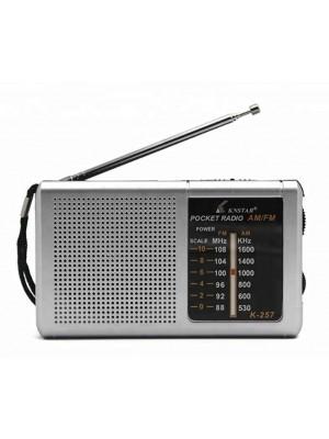 KNSTAR K-257 Pocket Radio AM/FM