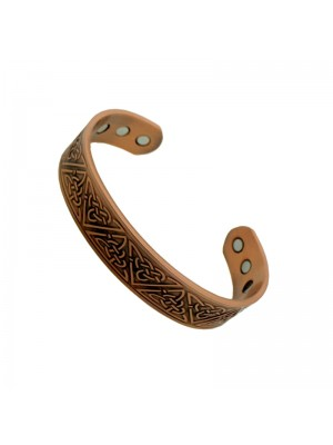 Wholesale Magnetic Bangle With 6 Magnets - Copper