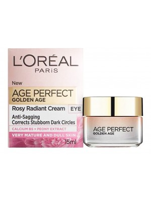 L'Oreal Age Perfect Golden Age Rosy Radiant Eye Care Cream - 15ml