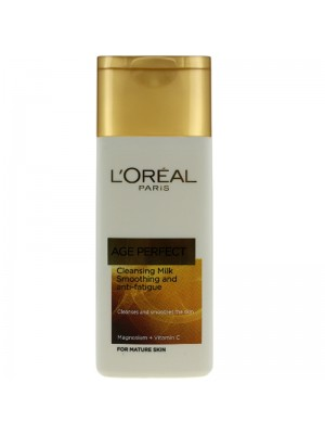 Wholesale L'Oreal Age Perfect Smoothing And Anti-Fatigue Cleansing Milk - (200 ml)
