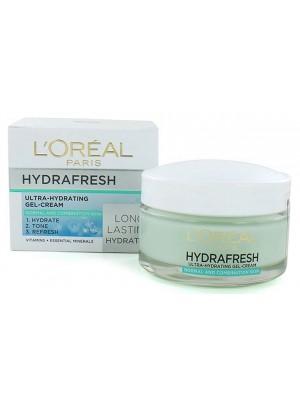 L'Oreal Hydrafresh Ultra-Hydrating Gel Cream - (50 ml)