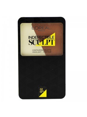 Wholesale L'Oreal Indefectible Sculpt Contouring Palette - Assorted