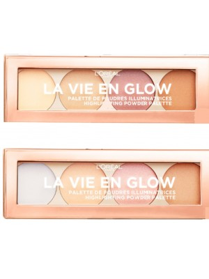 Wholesale L'Oreal La Vie En Glow Highlighting Powder Palette - Assorted
