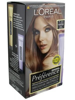 L'Oreal Paris Preference Infinia Hair Colour - Rose Gold(7.23)