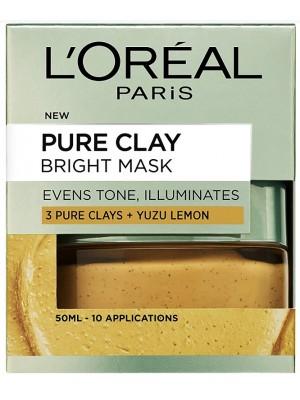 L'Oreal Paris Pure Clay Face Mask with Yuzu Lemon