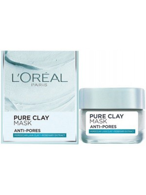 Wholesale L'Oreal Paris Pure Clay Mask Moroccan Lava & Rosemary extract - 50g